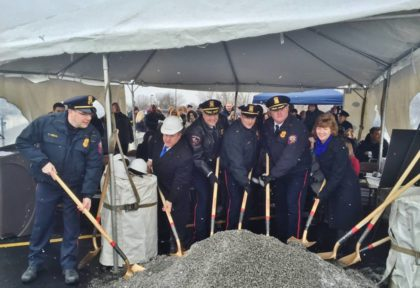 Groundbreaking Ceremony for Greece Police Department Headquarters