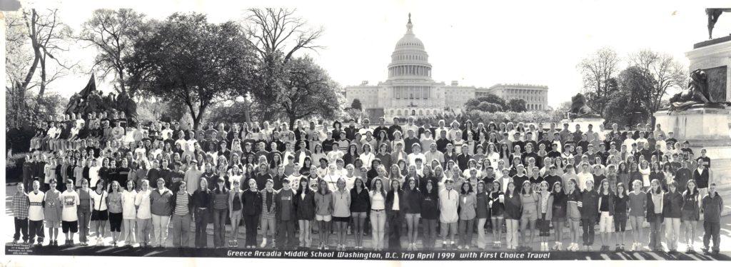 Greece Arcadia Middle School Trip to Washington, D.C.