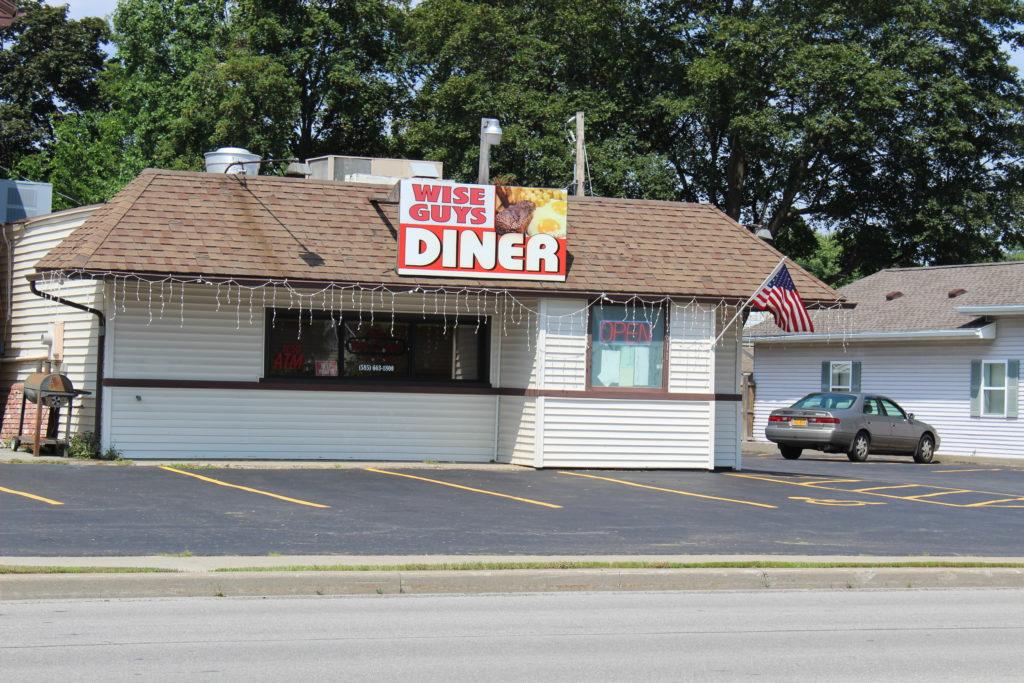 Wise Guys Diner on Dewey Avenue