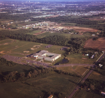 Aerial View of Greece Athena High School