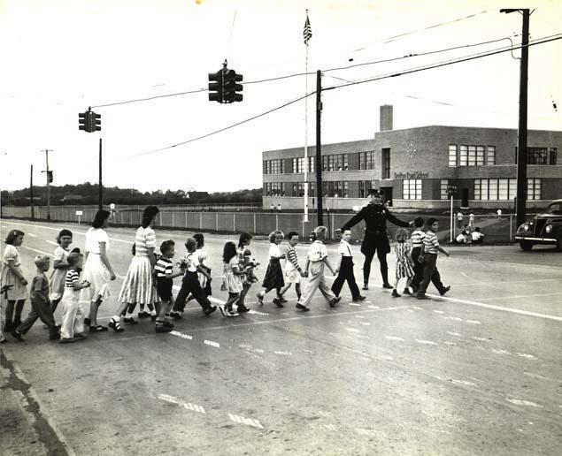 Children Going to Britton Road School