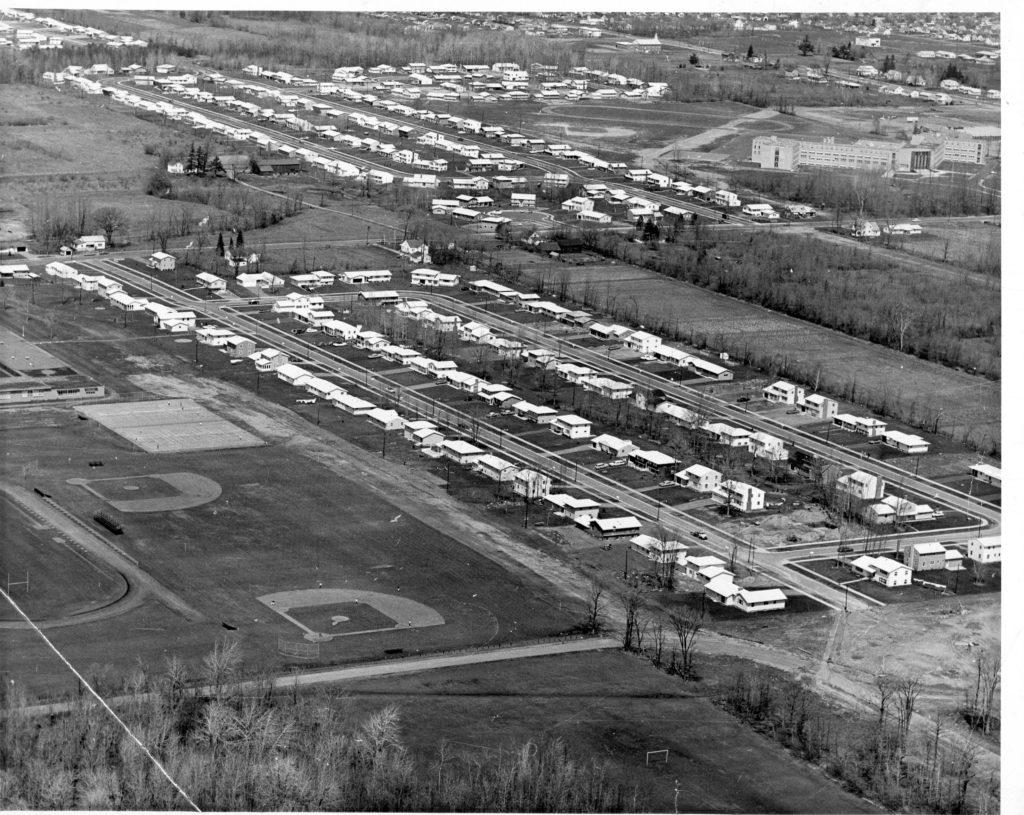 Aerial View of Cardinal Mooney High School
