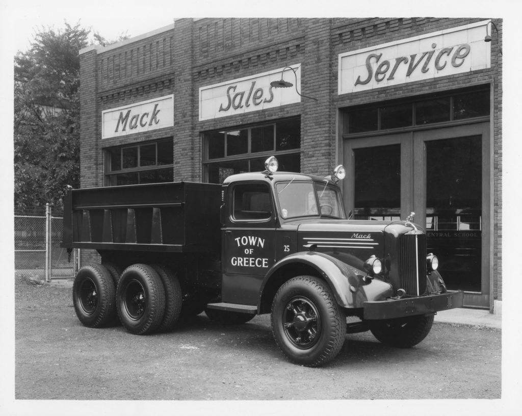 Department of Public Works Dump Truck