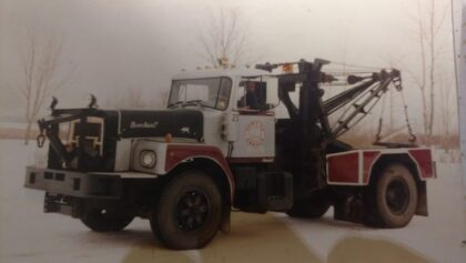 1973 Brockway Town of Greece Tow Truck