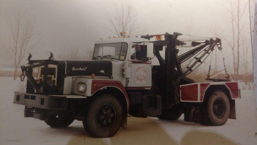 1973 Brockway Town of Greece Tow Truck