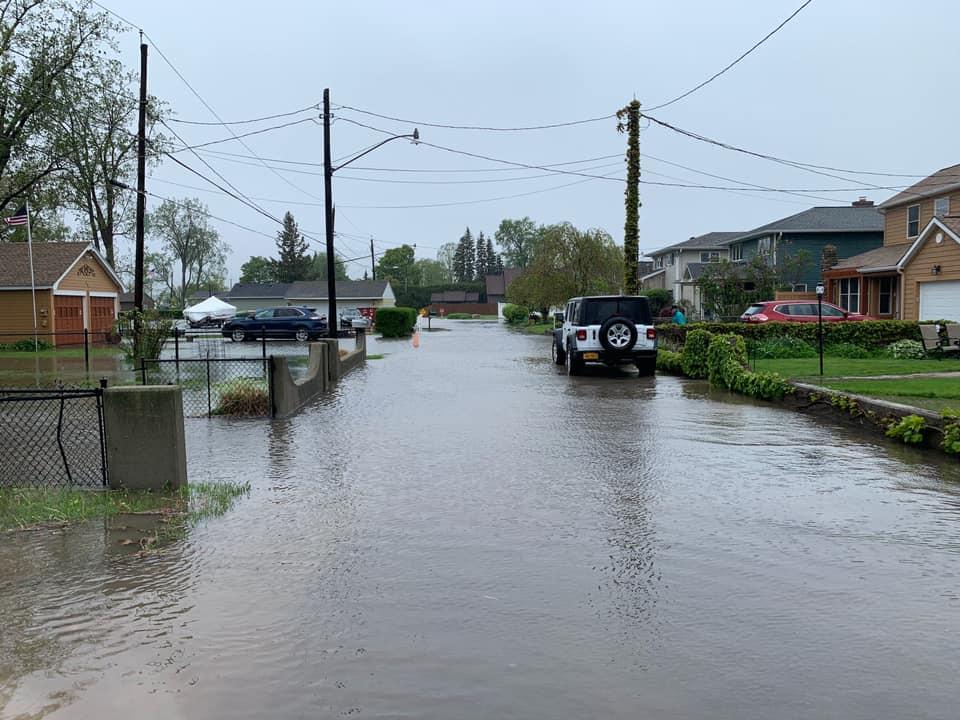 Lake Ontario Flooding on Edgemere Drive