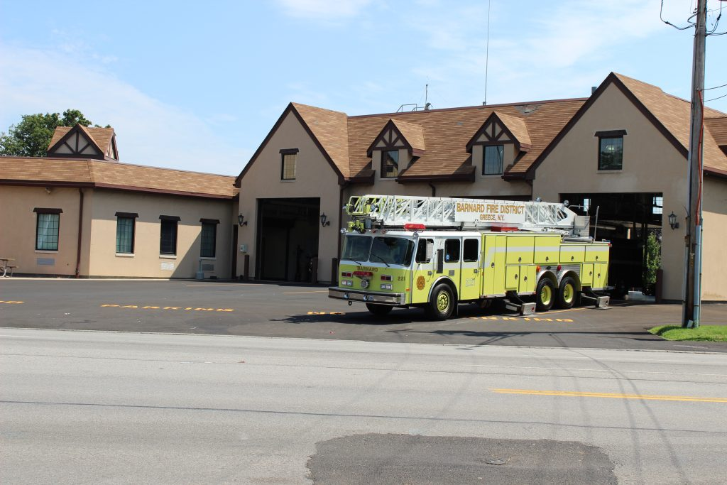 Barnard Fire Department on Dewey Avenue
