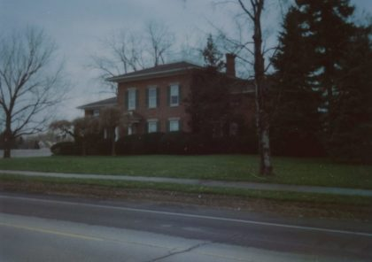 The Fleming House on Latta Road