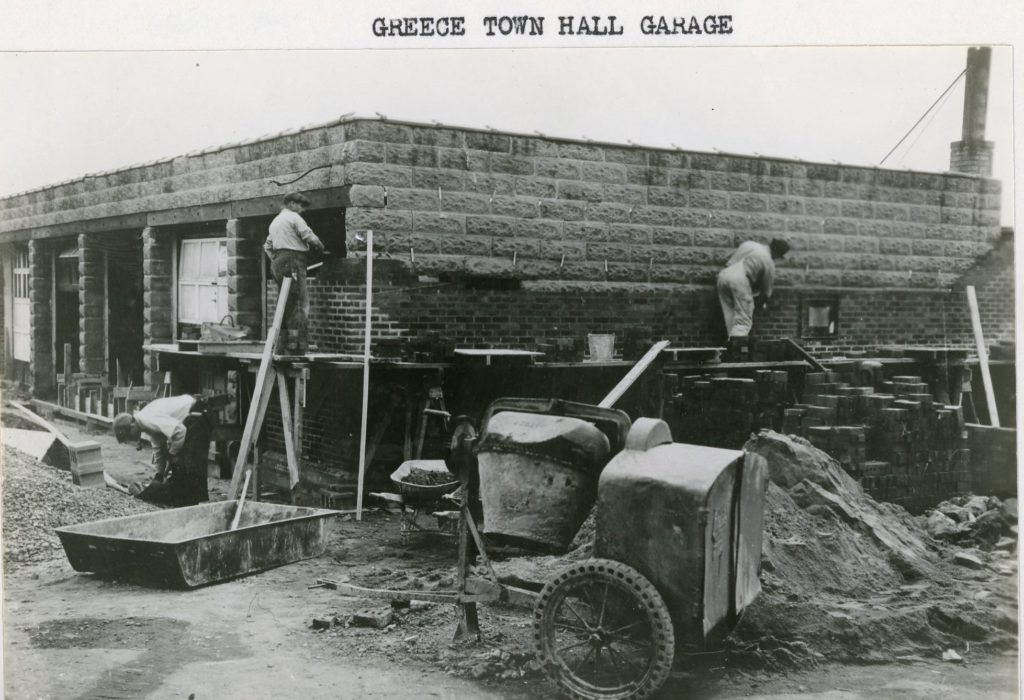 Greece Town Hall Garage Construction