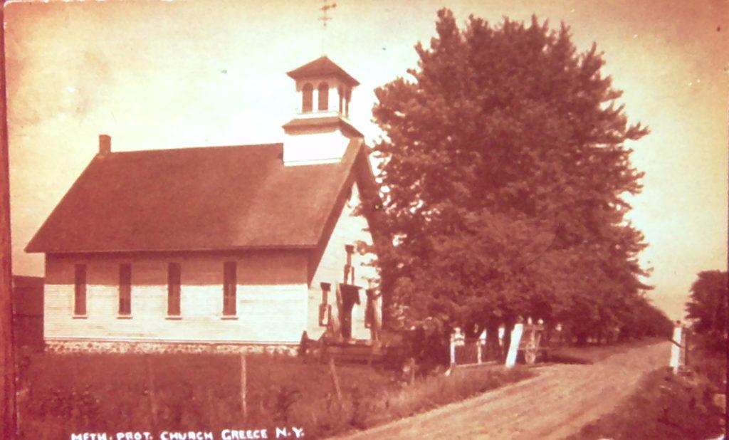 Old Greece Methodist Church on Maiden Lane
