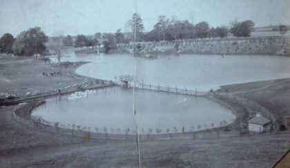 Man Made Ponds for Ice Harvesting at Yates-Thayer Farm