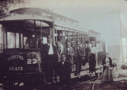 Manitou Trolley Car No. 23
