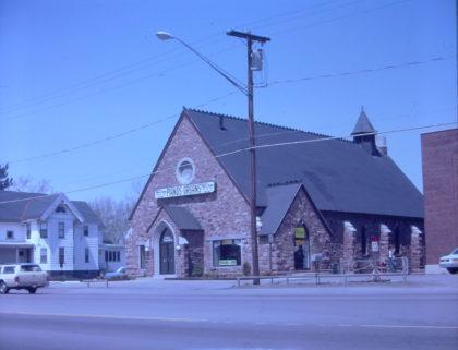 Former St. John's the Evangelist Church on Ridge Road