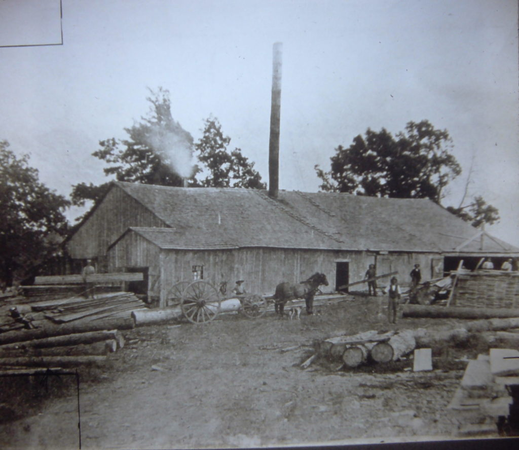 Hiscock's Lumber Mill