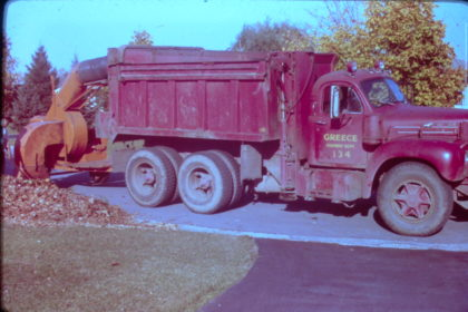 Department of Public Works Leaf Collector