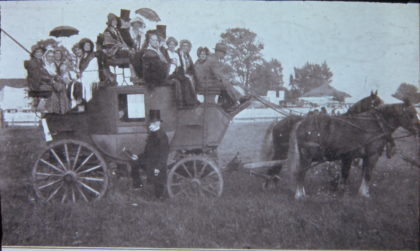 Stagecoach on Ridge Road
