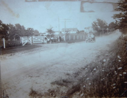 Latta Road in the Early 20th Century