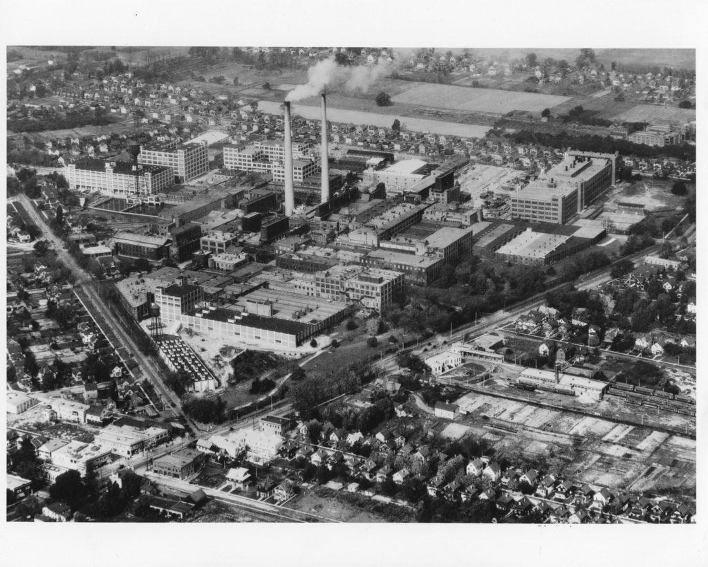 Aerial View of Kodak Park – Ridge Road and Lake Avenue