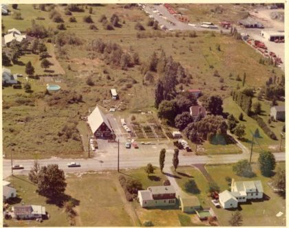 Aerial View of Agway Garden Store on Long Pond Road