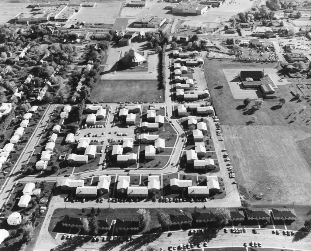 Aerial View of Ridge Road