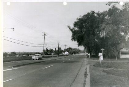 Corner of West Ridge Road and Pepperidge Drive Looking West