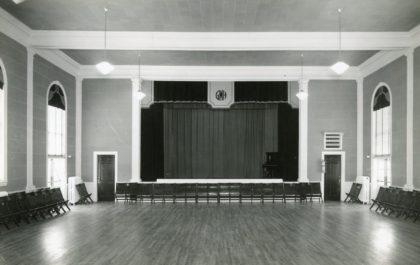 Old Greece Town Hall Auditorium