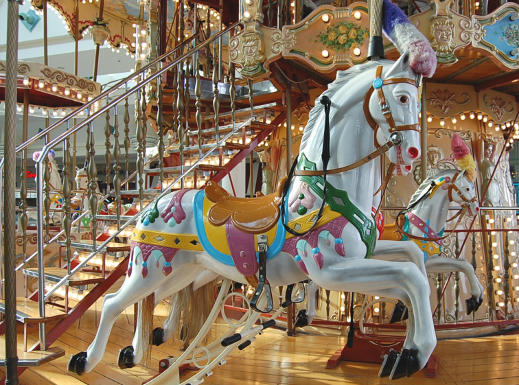 Carousel at The Mall at Greece Ridge