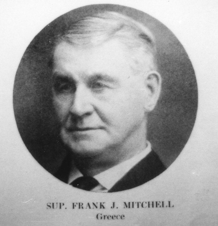 Greece Town Supervisor Frank J. Mitchell