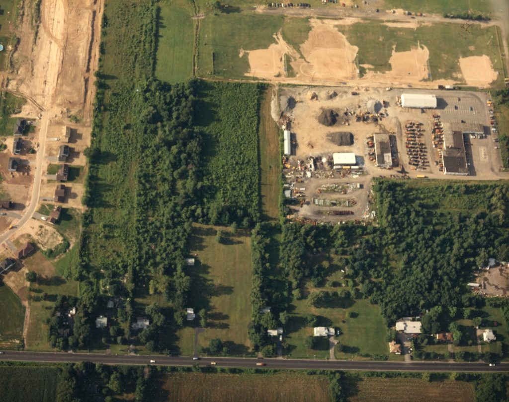 Aerial View of the Department of Public Works