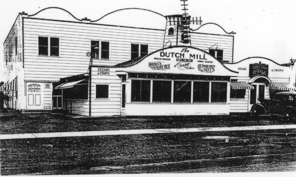 Dutch Mill Restaurant on Dewey Avenue