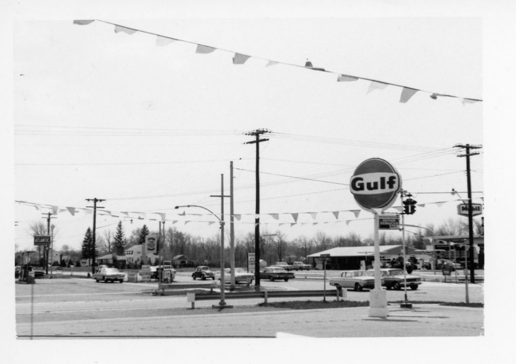 Gulf Gas Station on Maiden Lane and Mt. Read Boulevard