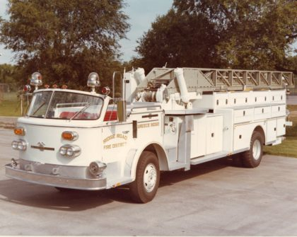 Ridge Road Fire District Ladder Truck