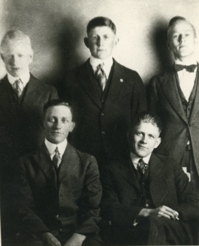 Milton Carter and Group of Friends