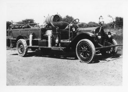 Barnard Fire Department Fire Truck