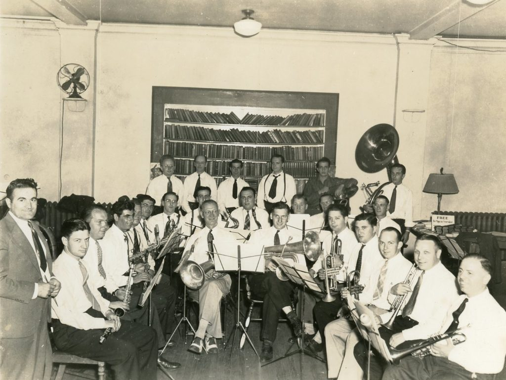 The Odenach Band at New York Central Station