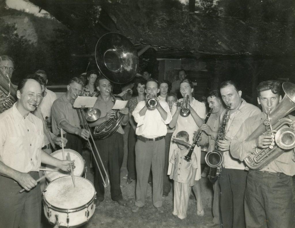 Odenbach Band at Company Picnic