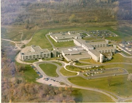 Aerial View of Park Ridge Hospital