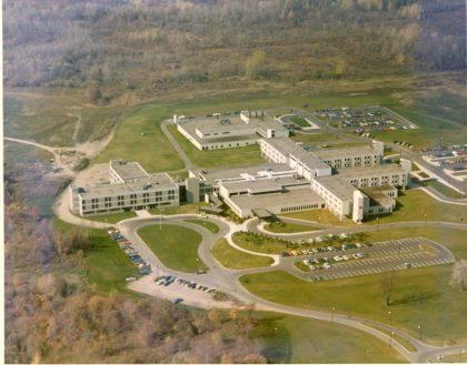 Aerial View of Park Ridge Hospital