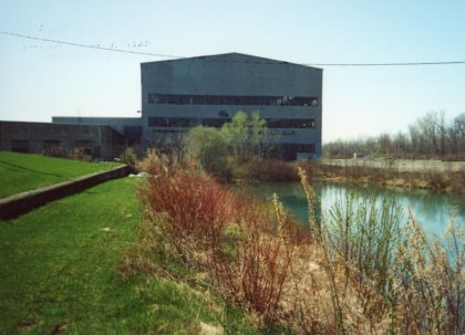 Exterior of Old Odenbach Shipbuilding Corporation Building