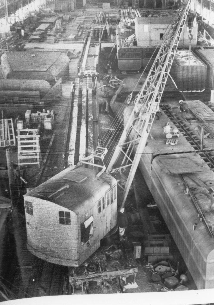 Crane at the Odenbach Shipyard