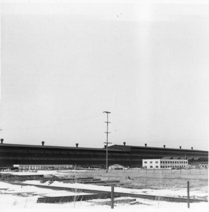 Exterior of Odenbach Shipbuilding Corporation
