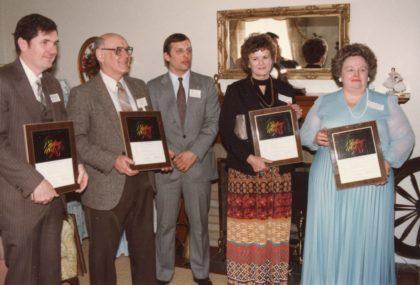 """Book Award Presentation for """"Eight Miles Along the Shore"""""""