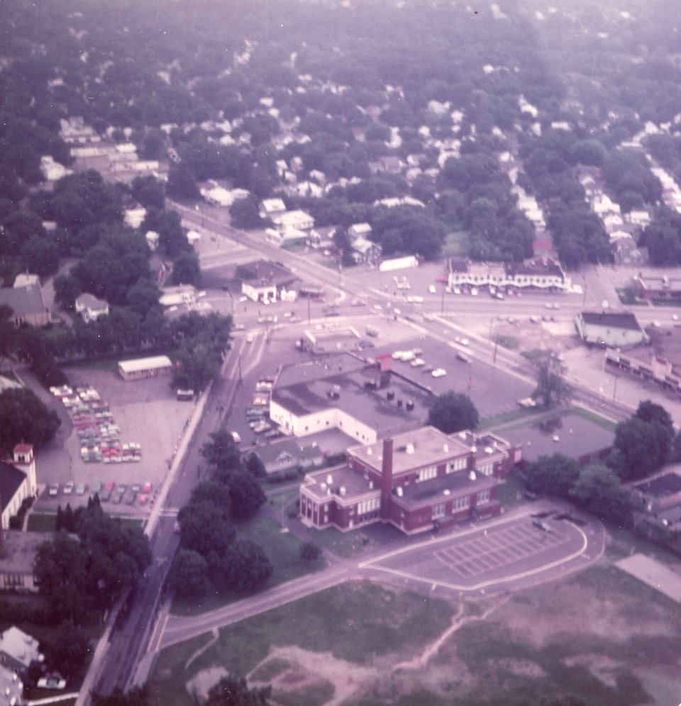 Aerial View of Dewey Stone Area