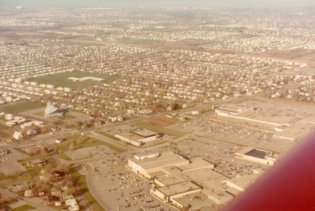 Aerial View of Ridge Road – Greece Town & Long Ridge Malls