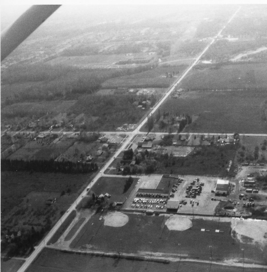 Aerial View of Latta and Long Pond Roads