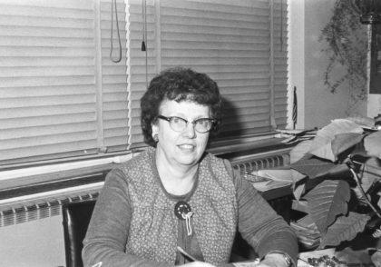 Britton Road Junior High School Principal Marrie Hwiecko