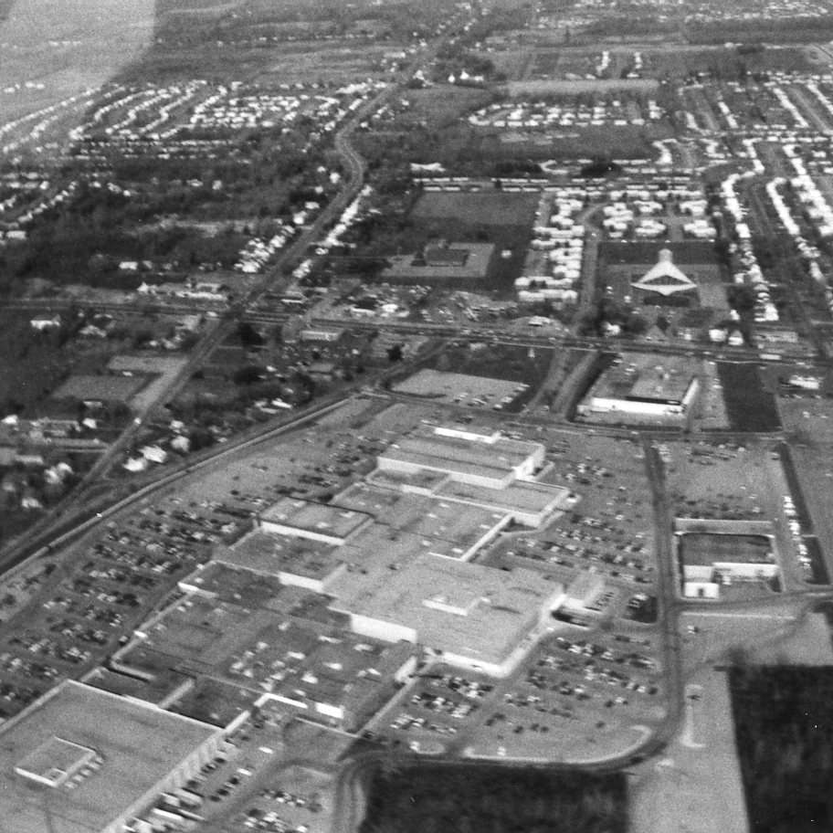 Aerial View of Long Ridge Mall