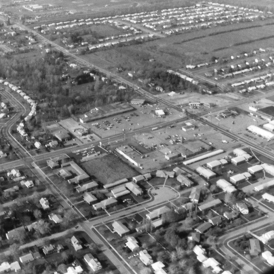 Aerial View of Dewey and Latta Roads