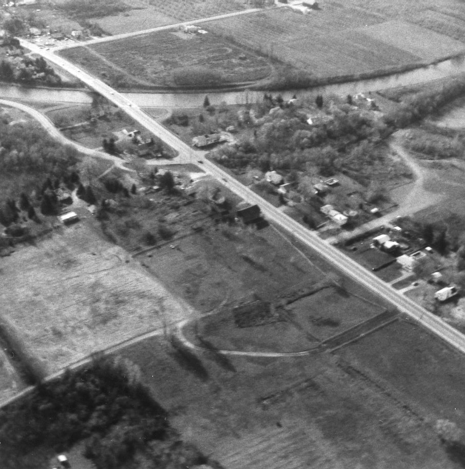 Aerial View of Elmgrove Road & Erie Canal