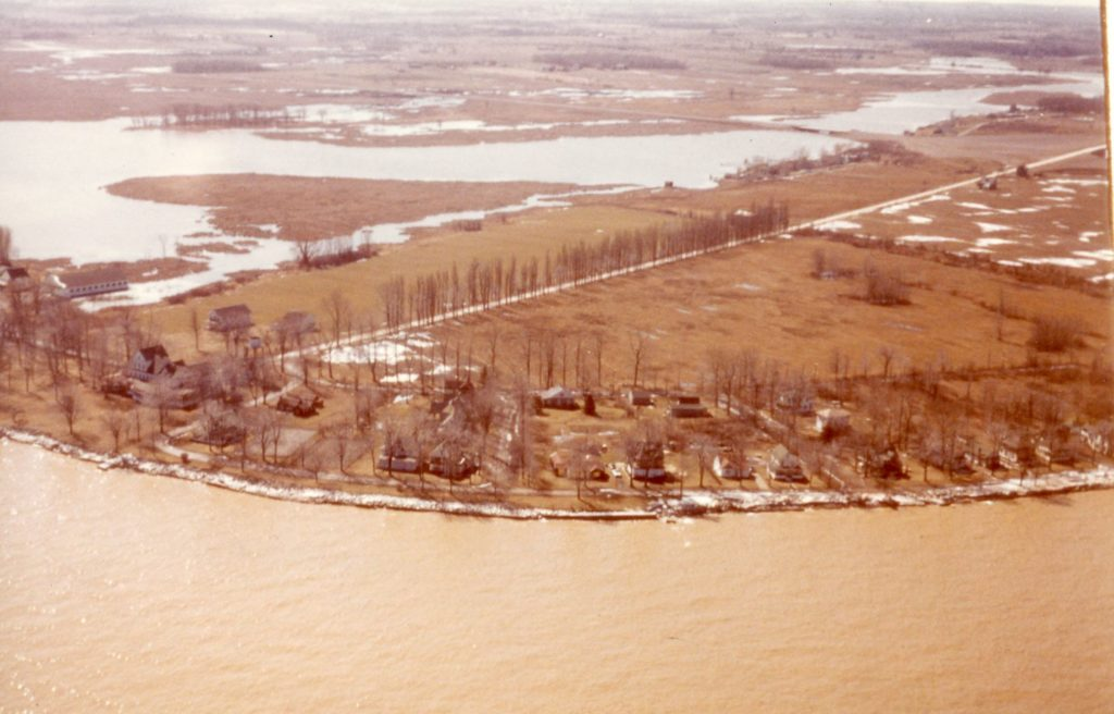 Aerial View of Manitou Beach